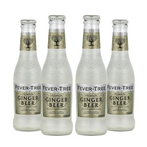 4x Ginger Beer Fever Tree 200 cc