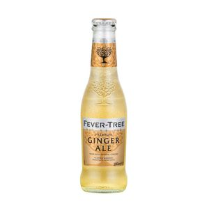 4x Ginger Ale Fever Tree 200 cc